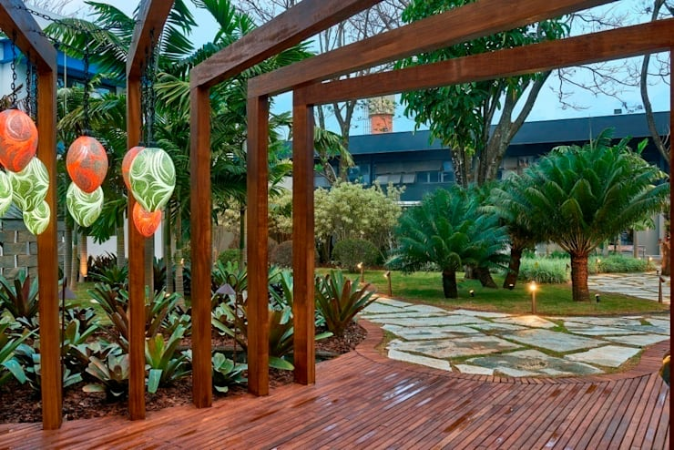 Casa Cor Brasília 2014: Espaços comerciais  por CP Paisagismo