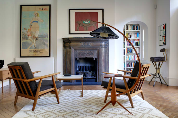 eclectic Living room by ReDesign London Ltd