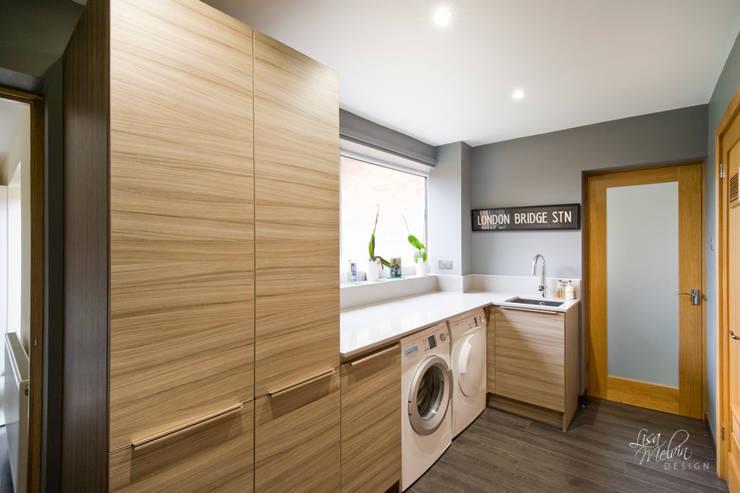 Utility Room :  Kitchen by Lisa Melvin Design