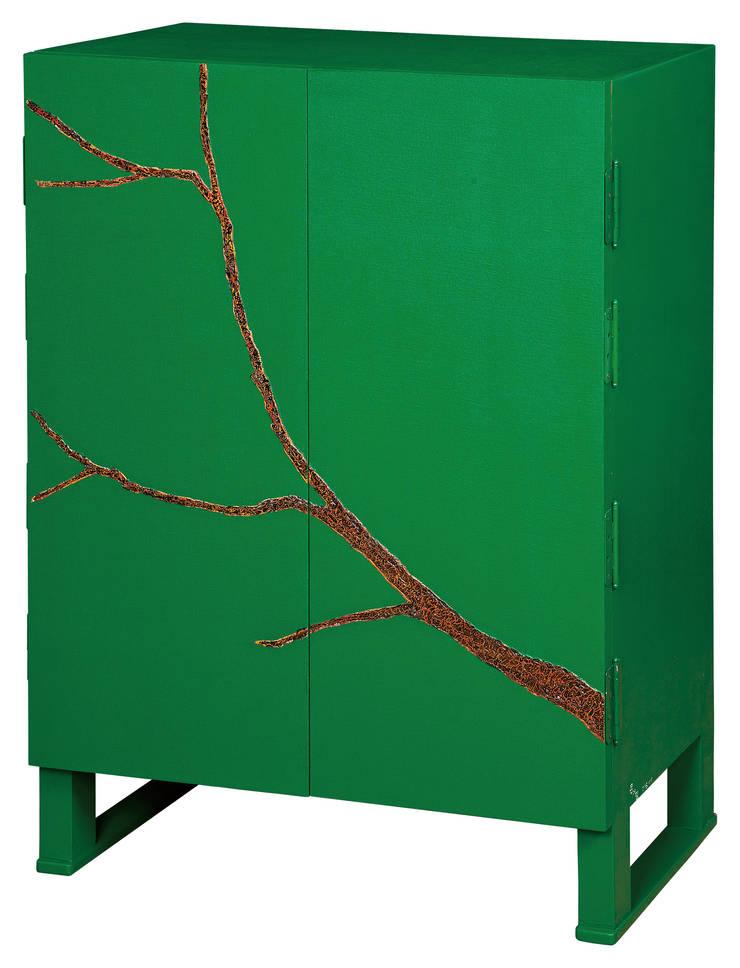 삼베가구(녹): 문재필 옻칠갤러리의  거실