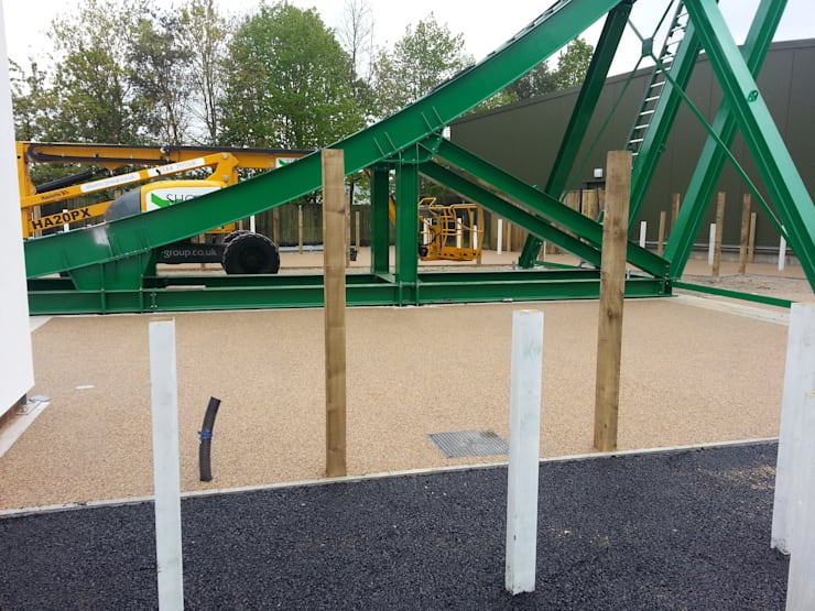 Resin Bound Paving at Lego Land :  Event venues by Permeable Paving Solutions UK
