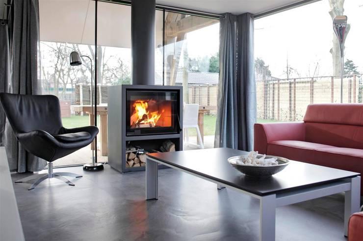 ห้องนั่งเล่น โดย Bongers Architecten, โมเดิร์น