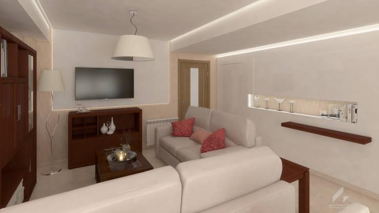 Render Propuesta: Salones de estilo  de AG INTERIORISMO