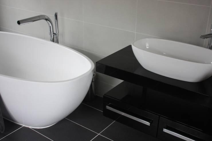 Bath & Basin : modern Bathroom by Daman of Witham Ltd