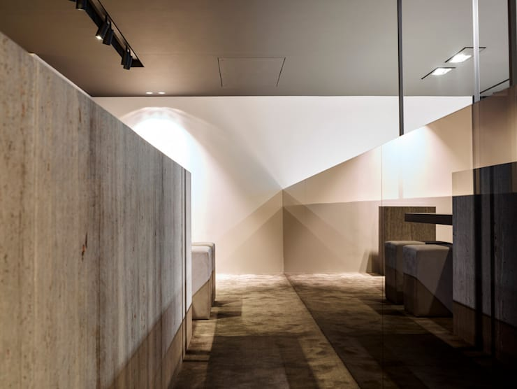 Ladenflächen von Glenn Sestig Architects, Minimalistisch