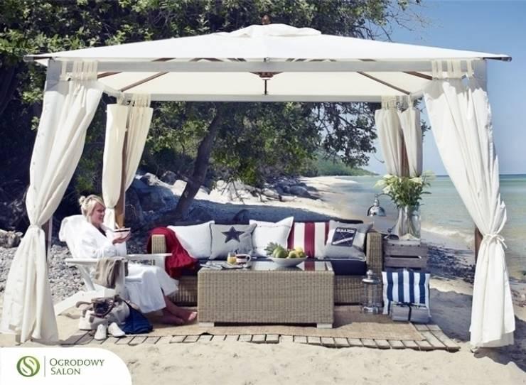 Pawilon Saint Tropez: styl , w kategorii Balkon, weranda i taras zaprojektowany przez Ogrodowy Salon