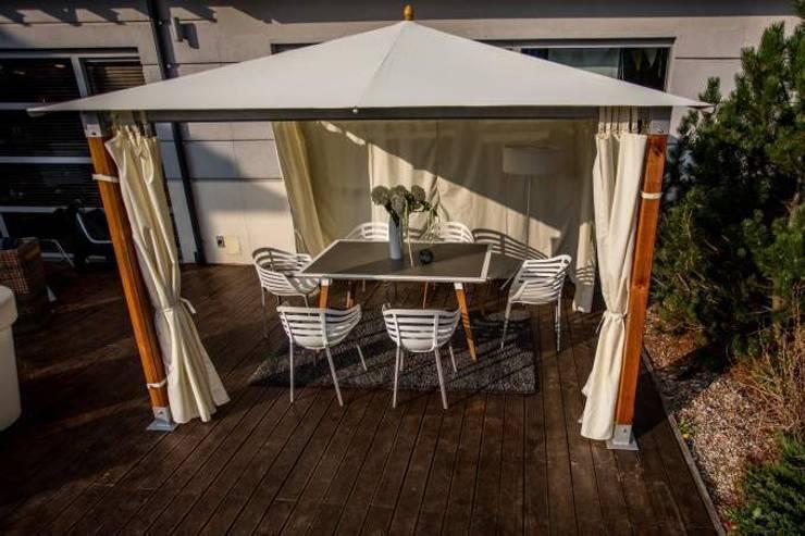 Pawilon Saint Tropez: styl , w kategorii Ogród zaprojektowany przez Ogrodowy Salon