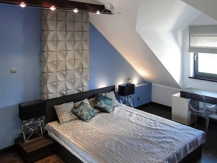 sypialnia: styl , w kategorii Sypialnia zaprojektowany przez Inspiration Studio