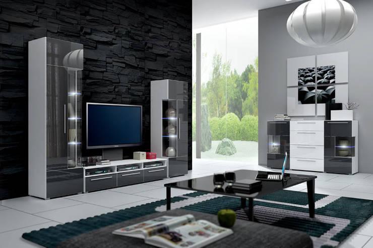 Mueble de salón de diseño Alicia modelo 2: Comedor de estilo  de Domensino