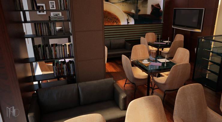 MHD Design Group – interior Camera 003:  tarz Bar & kulüpler, Modern