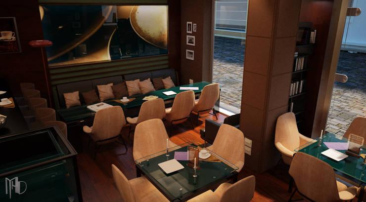 MHD Design Group – interior Camera 002:  tarz Bar & kulüpler, Modern