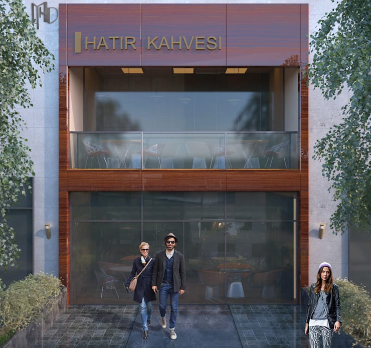 MHD Design Group – Exterior :  tarz Bar & kulüpler, Modern