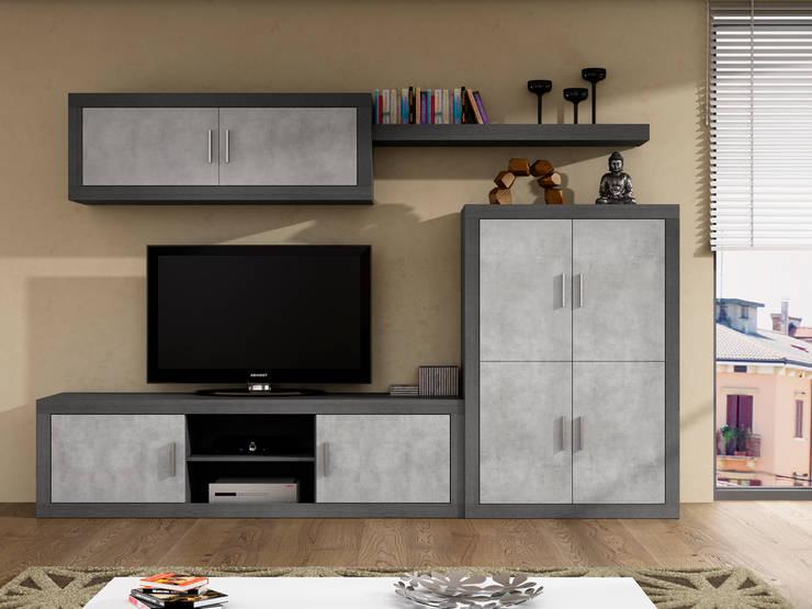 Composición zora 07 : Salones de estilo moderno de Muebles 1 Click