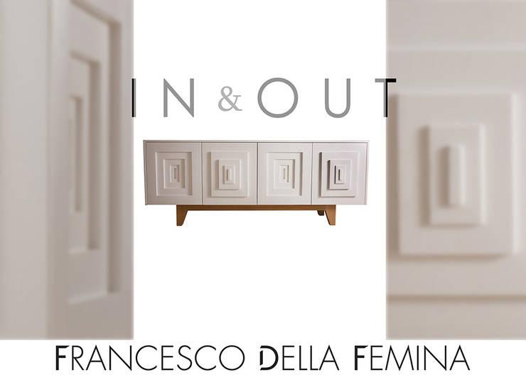 In & Out sideboard:  in stile  di Francesco Della Femina