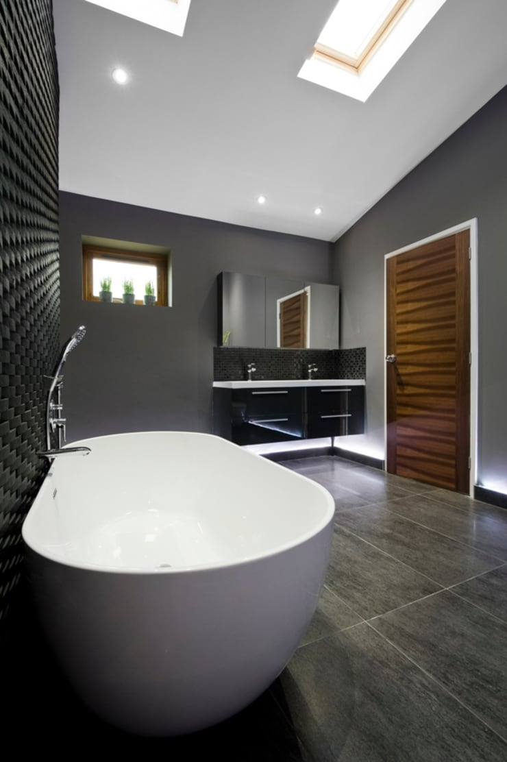 Bathroom by Lisa Melvin Design , Modern