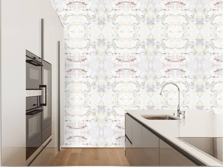 TAPETA LAPIS: styl , w kategorii Ściany i podłogi zaprojektowany przez Eclectic Living