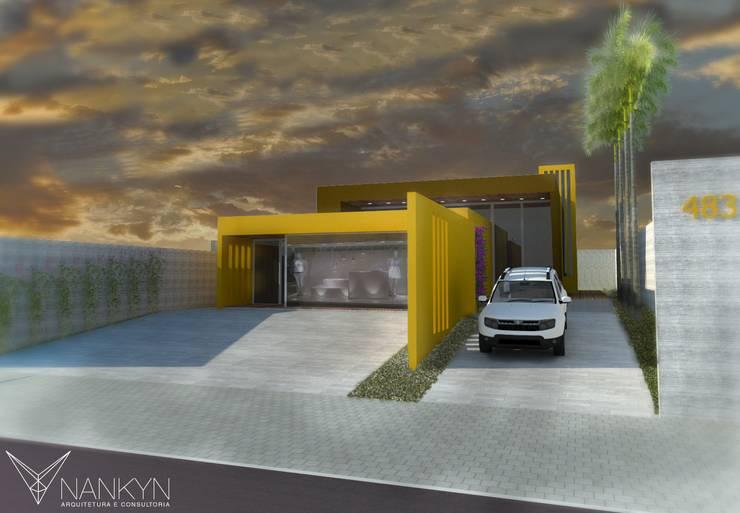 Mcx¹: Lojas e imóveis comerciais  por Nankyn Arquitetura & Consultoria
