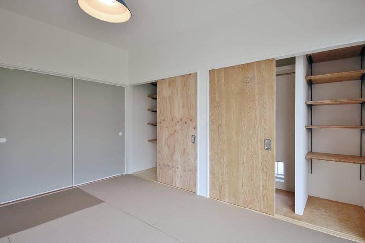 和室: ASTERが手掛けた寝室です。