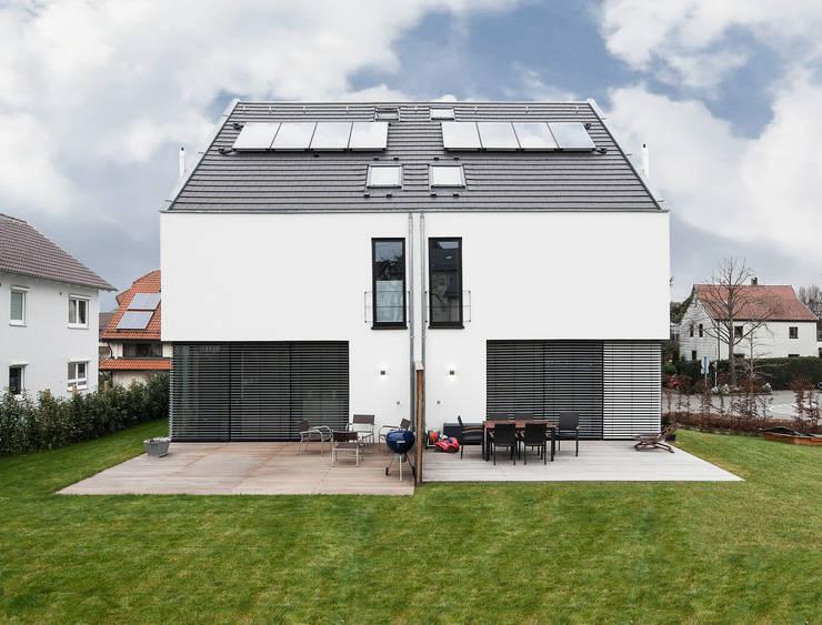minimalistic Houses by Schiller Architektur BDA