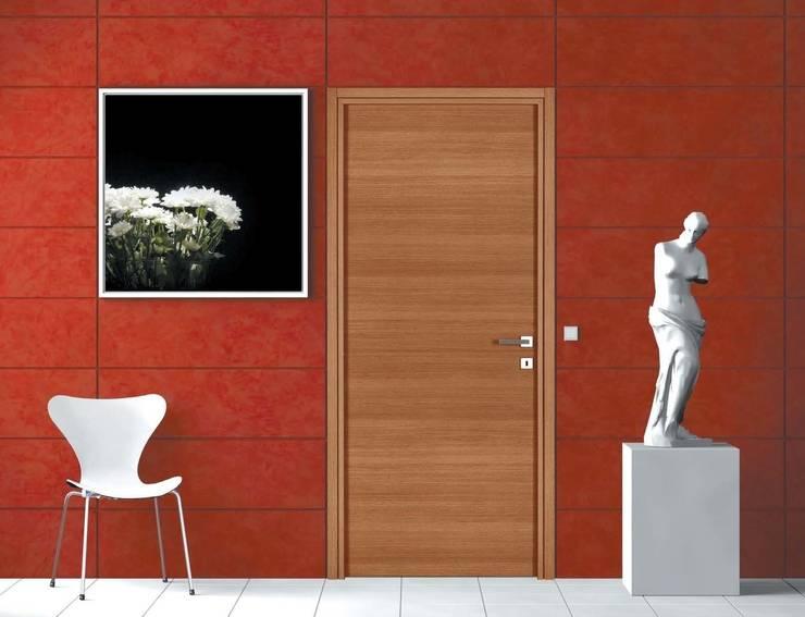 Modèle A Finition Chêne Naturel: Fenêtres & Portes de style  par GAÏALYS