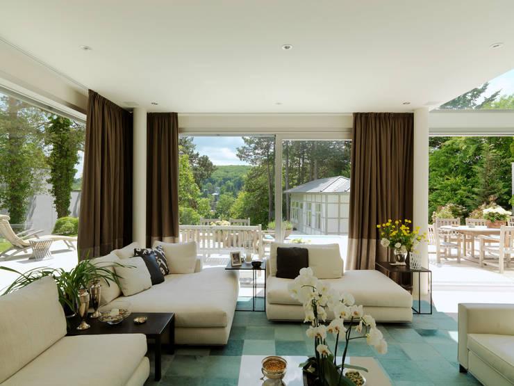 Projekty,  Salon zaprojektowane przez Moser Architects
