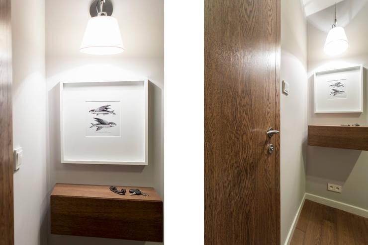 Mieszkanie - Warszawa - 45 m2: styl , w kategorii Korytarz, przedpokój zaprojektowany przez Mprojekt