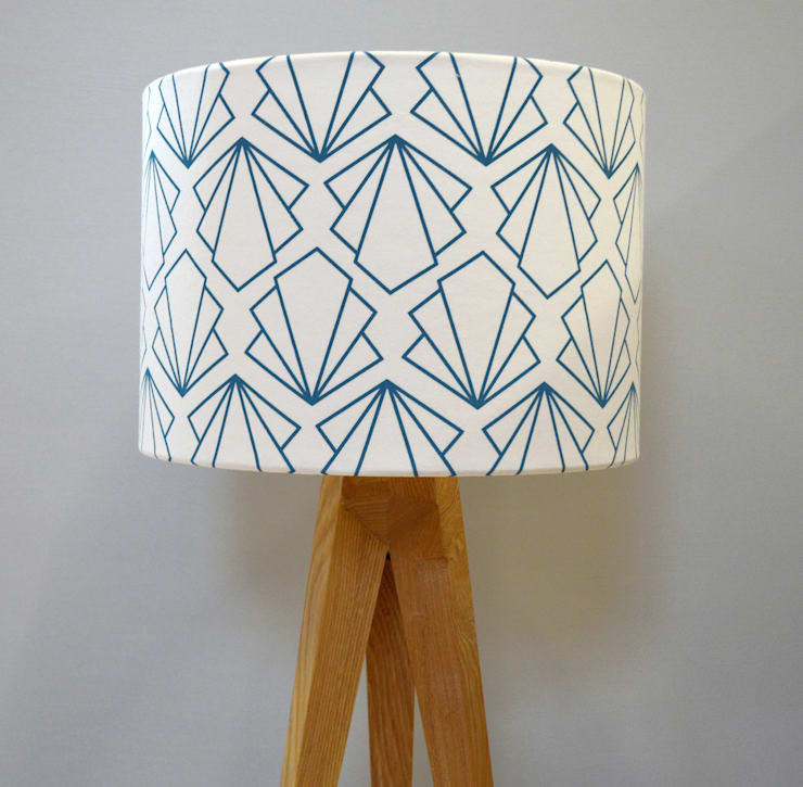 Sunbeam Lampshade:  Living room by Joanna Corney