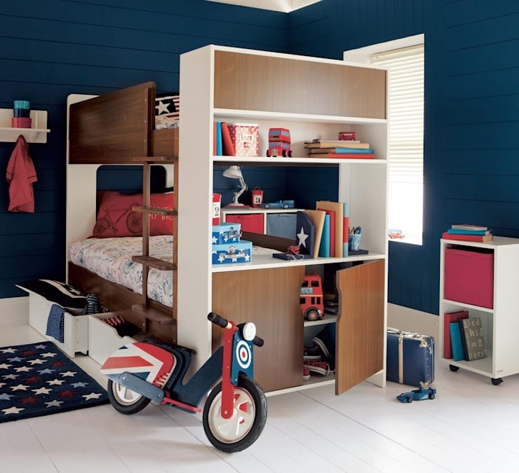Coco Storage Bunk: minimalistic Nursery/kid's room by ASPACE