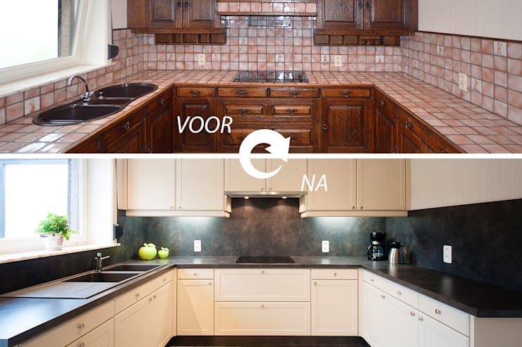 Keuken renovatie:   door RENO GROUP