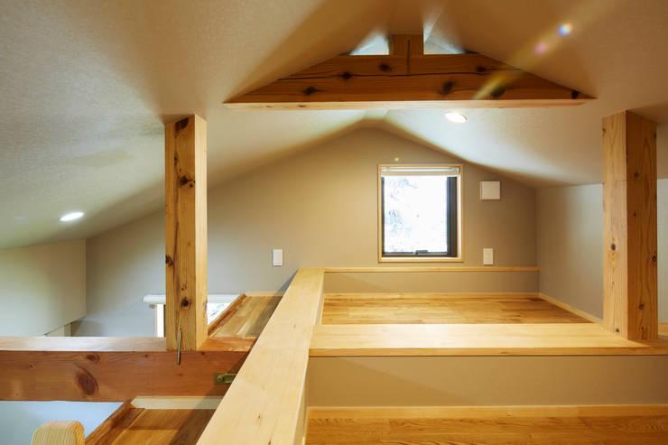 ロフト: 川良昌宏建築設計事務所 Kawara Masahiro Architect Officeが手掛けたです。