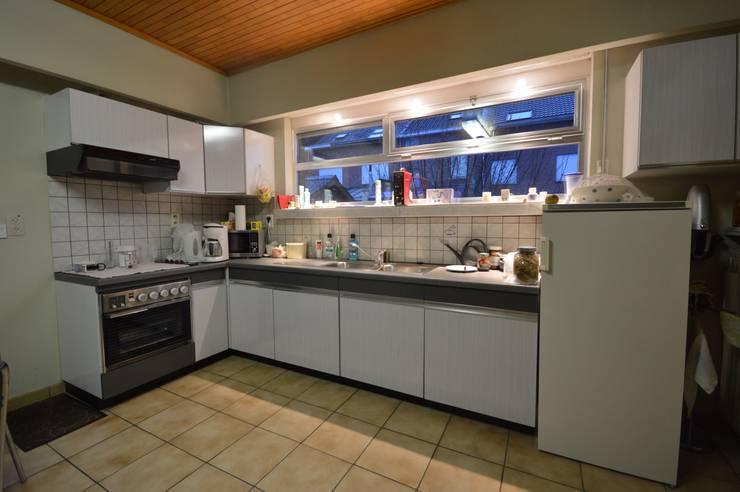 VOOR & NA keuken 1:   door RENO GROUP
