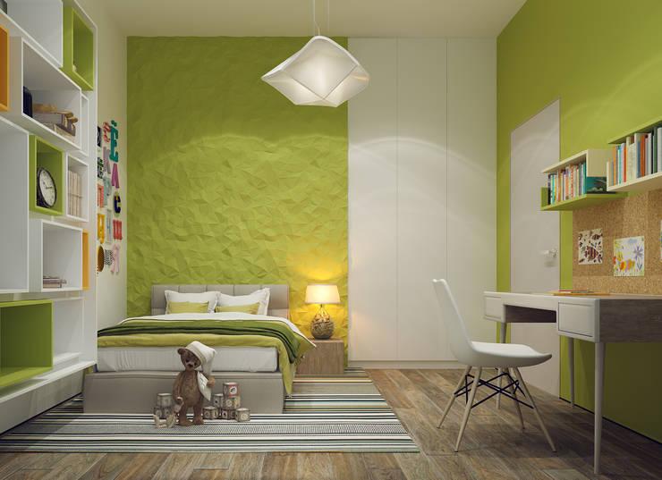 Dormitorios infantiles de estilo minimalista de Projecto2