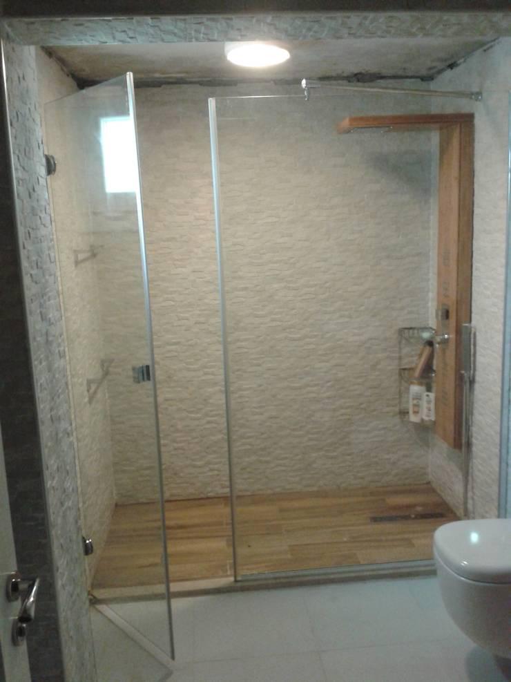 Ванные комнаты в . Автор – BAPEN PVC.ltd.şti., Модерн
