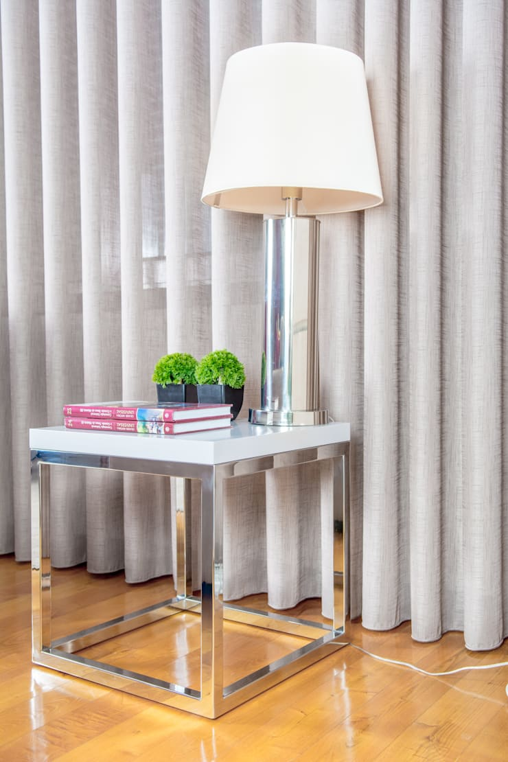 Sala Estar - Encosta do Douro: Salas de estar  por Ângela Pinheiro Home Design