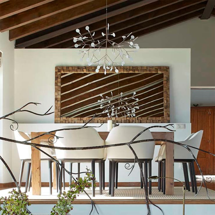 rustic Dining room by Deu i Deu