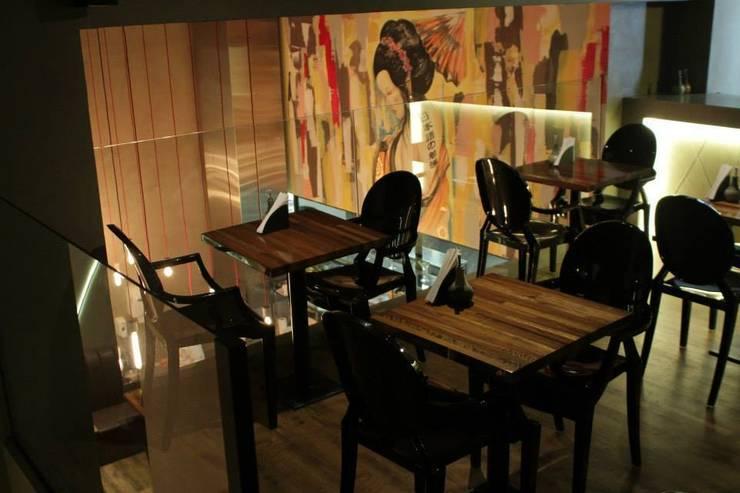 MEZANINO: Espaços gastronômicos  por Gabriela Herde Arquitetura & Design