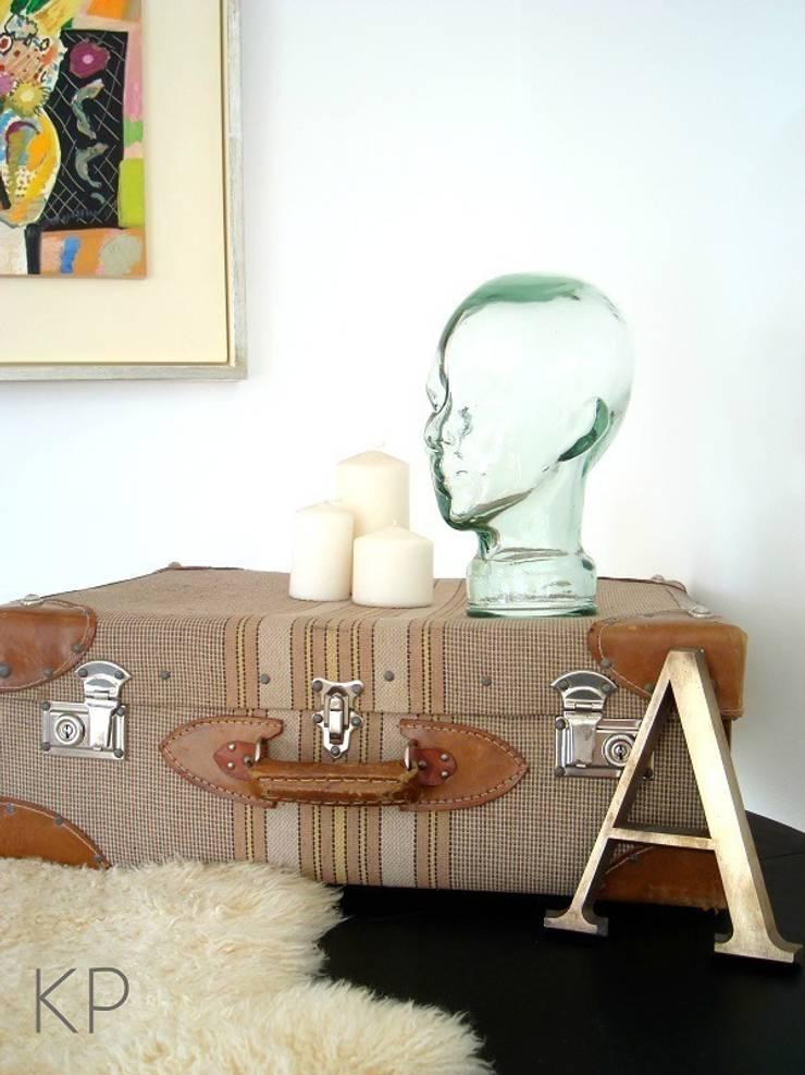 Cabezas de cristal antiguas Ref. J3: Hogar de estilo  de KP Decor Studio. Tienda vintage online