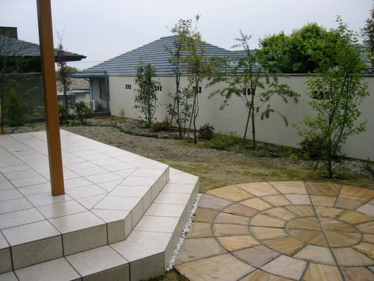 テラスの庭 2006: アーテック・にしかわ/アーテック一級建築士事務所が手掛けた庭です。,