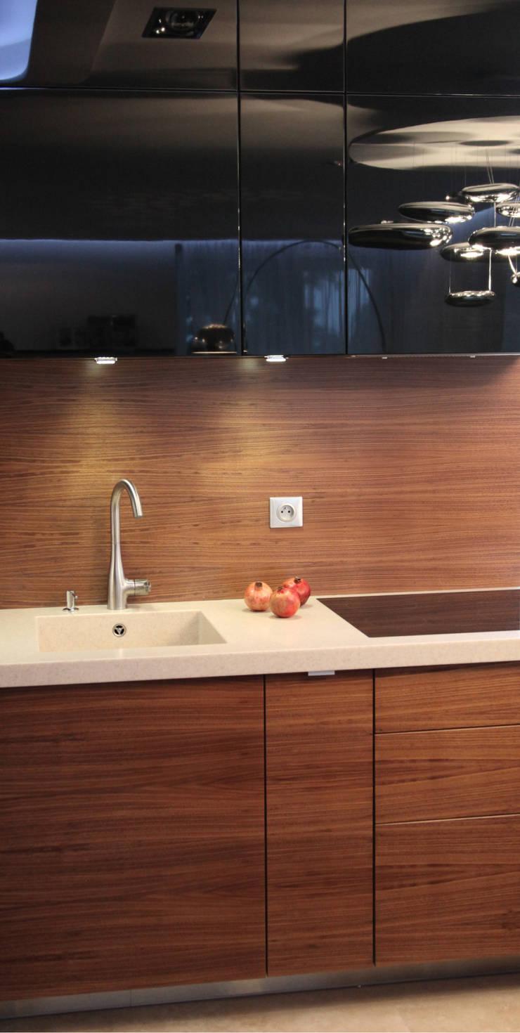 apartament w Krakowie: styl , w kategorii Kuchnia zaprojektowany przez dot.projekt