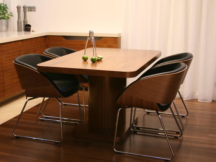 apartament w Krakowie: styl , w kategorii Jadalnia zaprojektowany przez dot.projekt