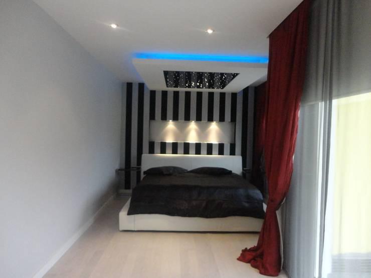 Vizyon Mimarlık ve Dekorasyon – M.G Evi / Kırklareli:  tarz Yatak Odası