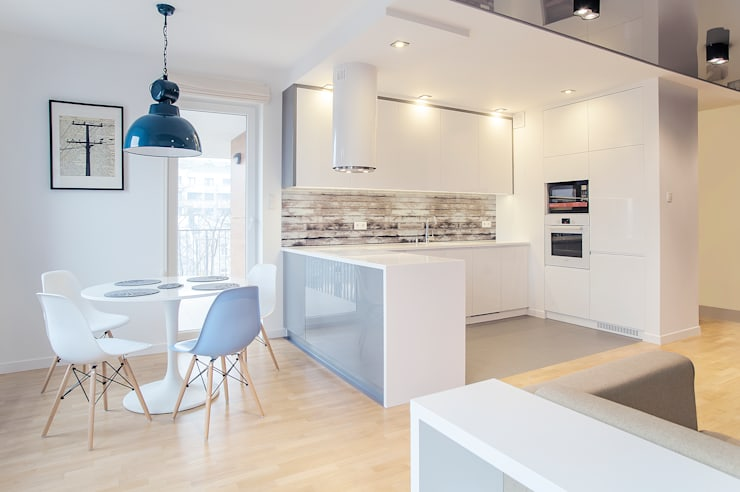 Cuisine de style  par DK architektura wnętrz