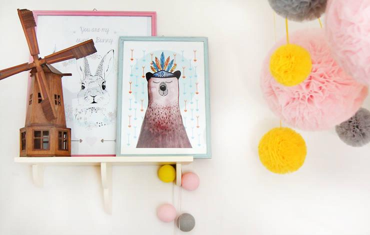 Dziecięcy kącik: styl , w kategorii Pokój dziecięcy zaprojektowany przez ZAZA studio