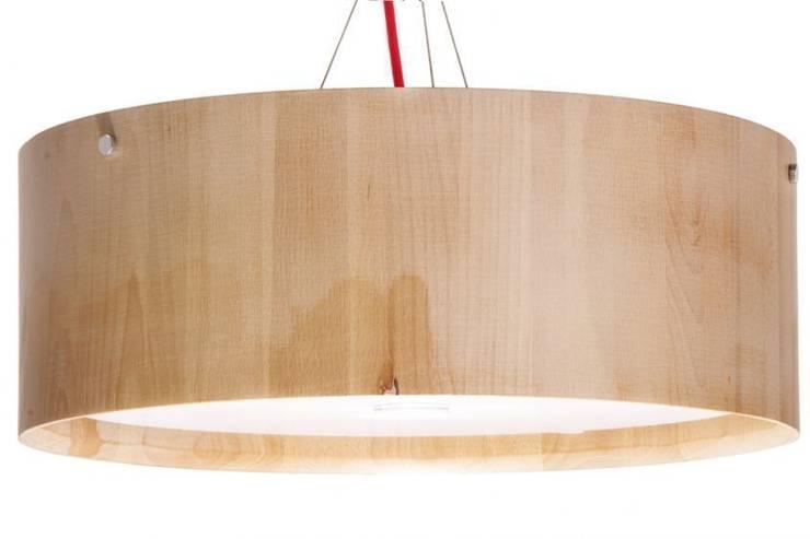 Lampa PACKWOOD: styl , w kategorii Salon zaprojektowany przez ArchonHome.pl