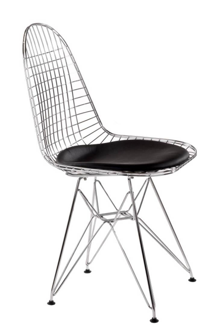 Krzesło NET: styl , w kategorii Jadalnia zaprojektowany przez ArchonHome.pl