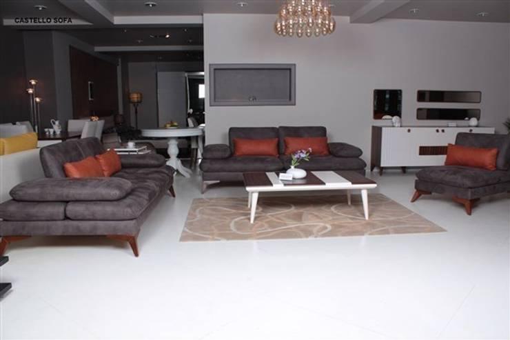 Wohnzimmer von mekan mobilya