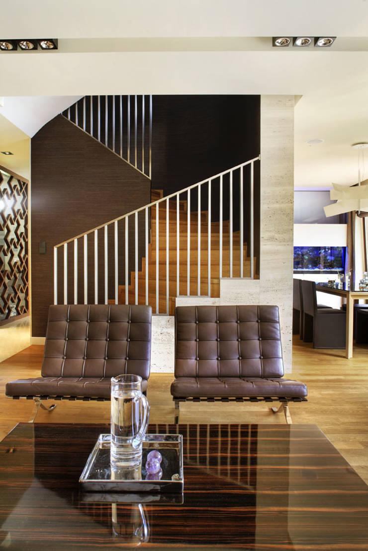SALON: styl , w kategorii  zaprojektowany przez Exit Pracownia Projektowa