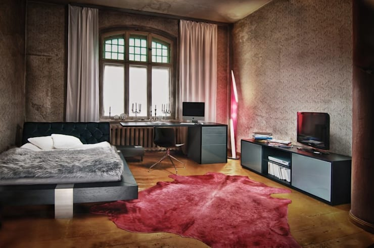 industrial Bedroom by Lupus73
