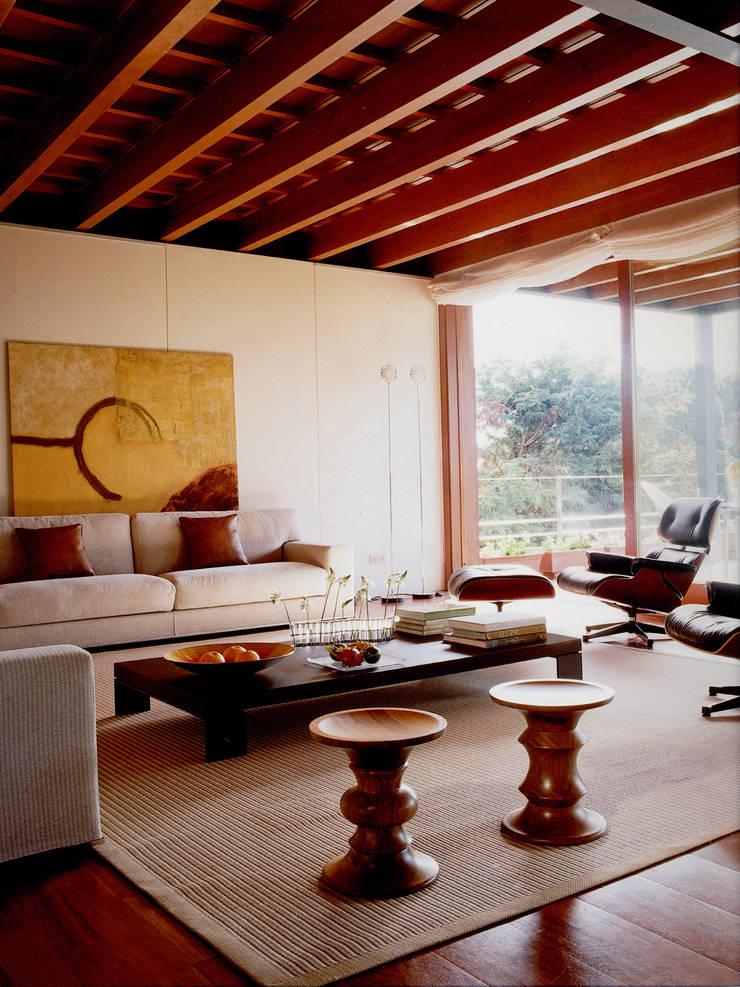 Sala de estar: Salones de estilo  de Artigas Arquitectes
