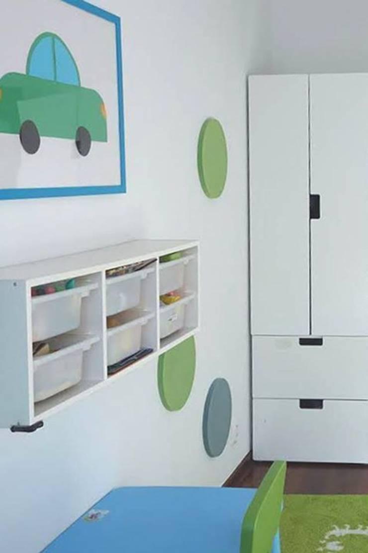 DOTS w projekcie Red Design, inspirujące...: styl , w kategorii Pokój dziecięcy zaprojektowany przez FLUFFO fabryka miękkich ścian